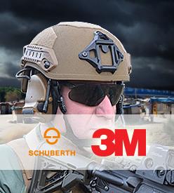 Cascos Balísticos 3M-SCHUBERT