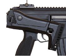 Culata plegada hacia la derecha del Heckler & Koch HK433 5,56mm x 45