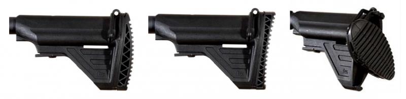 Opciones culata del rifle de asalto Heckler & Koch HK416