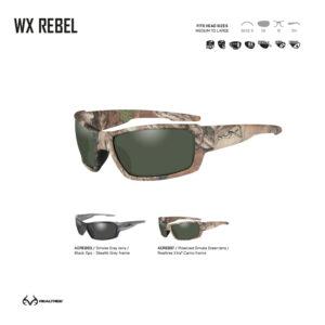 Gafas balísticas Xiley X Tactical/Police.
