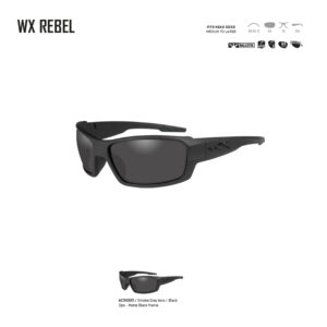 WX REBEL. Gafas balísticas Xiley X Tactical/Police.
