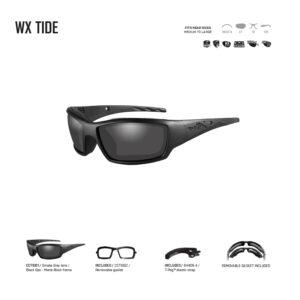 WX TIDE. Gafas balísticas Xiley X Tactical/Police.
