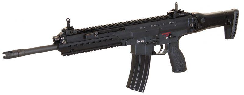 """Heckler & Koch HK433 5,56mm x 45 cañón de 14,5"""""""