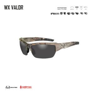 WX VALOR. Gafas balísticas Xiley X Tactical/Police.