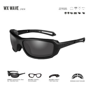 WX WAVE. Gafas balísticas Xiley X Tactical/Police.