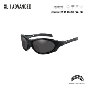 XL-1 ADVANCED. Gafas balísticas Xiley X Tactical/Police.