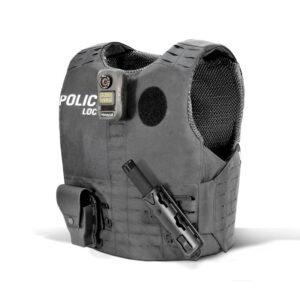 Funda Chaleco Antibalas Patrol Police Molle Laser Cut
