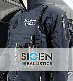 Chaleco Antibalas SIOEN BALLISTICS